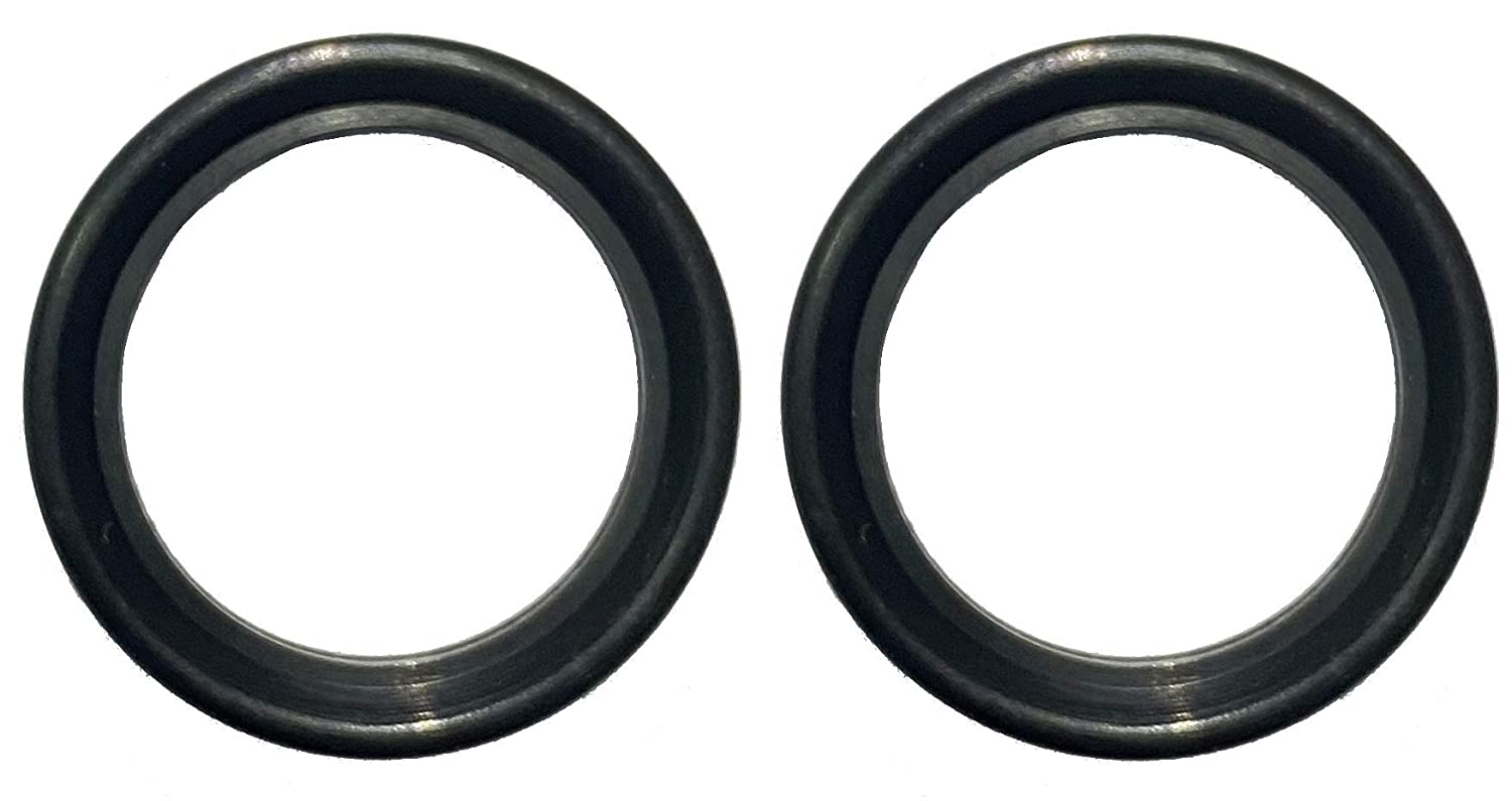 DR-COMPONENT Sanitary Standard Tri-Clamp Gaskets,Black Buna-N ,15 PCS Per Bag for 3 Inch Tri-Clover Or Tri-Clamp Fittings NBR
