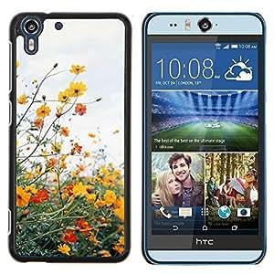 Stuss Case / Funda Carcasa protectora - Campo Nubes de verano de la margarita Sun Warm - HTC Desire Eye ( M910x )