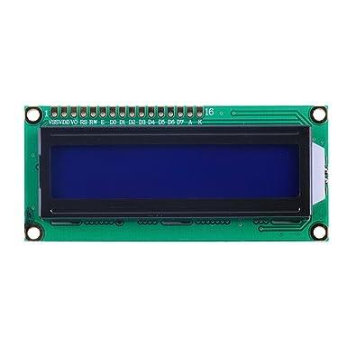 Pantalla LCD 1602 16x2 Display Compatible Arduino Y Raspberry PI: Amazon.es: Industria, empresas y ciencia