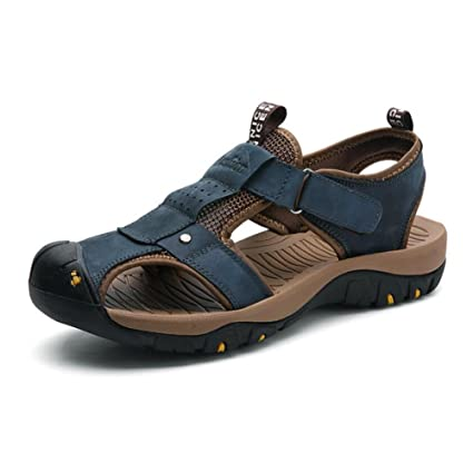 dbbdce14c572 Image Unavailable. Image not available for. Color  Mens Sandals - Durable  Summer Shoes ...