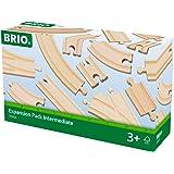 BRIO World Railway Track Expansion Pack - Intermediate