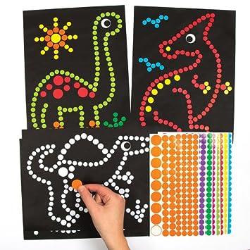 Fancy Insect Sticker Sheet for Kids CraftsChildrens Craft Stickers