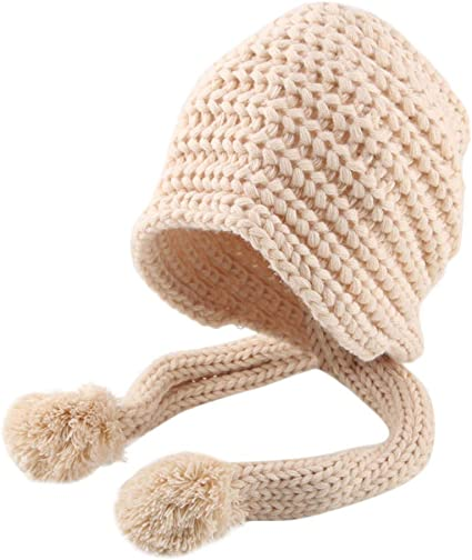Outdoor Toddler Kid Girl/&Boy Baby Infant Winter Warm Crochet Knit Hat Beanie Cap