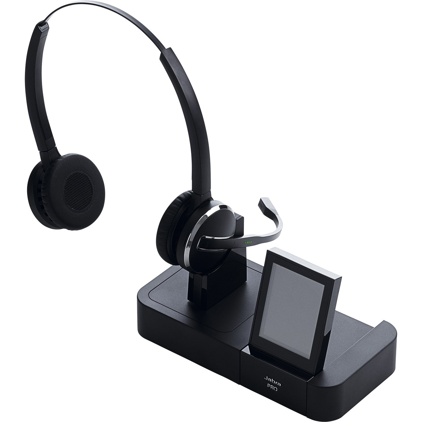 Jabra PRO 9460 Duo Wireless Headset with Touchscreen for Deskphone & Softphone