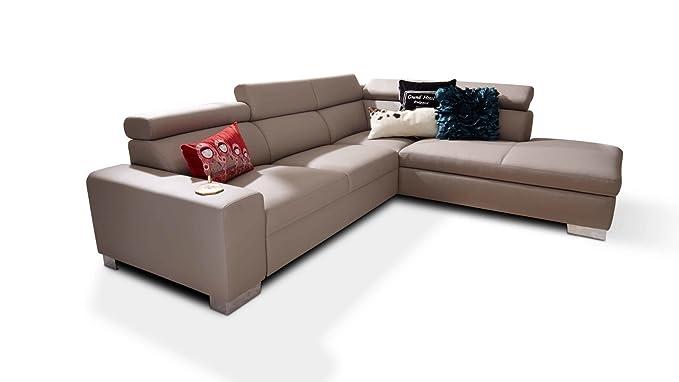 Eckcouch Kawoo Polstergarnitur Ecksofa Sofa Couch Garnitur Günstig