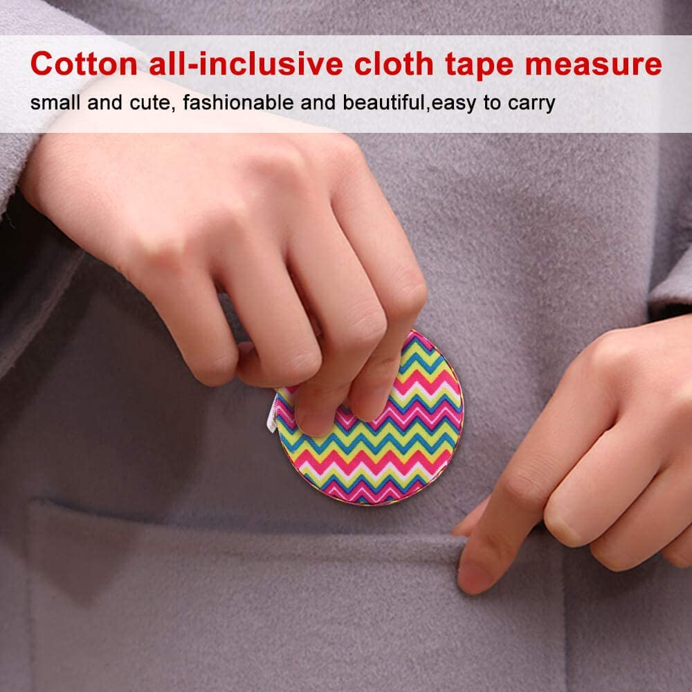 tape measure sewing Automatic retractable tape measure clothing measuring Tape Measure fractions Self Lock tape-Color stitching pattern 1.5 meter Cloth tape measure,Tape Measure for Body