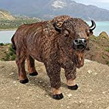 Cheap Design Toscano The American Buffalo Statue, Multicolored