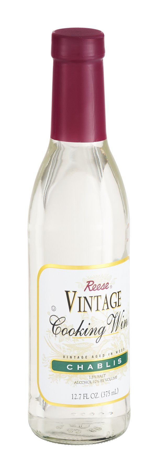 Reese Vintage Cooking Wine Chablis 12.7 OZ (Pack of 18)