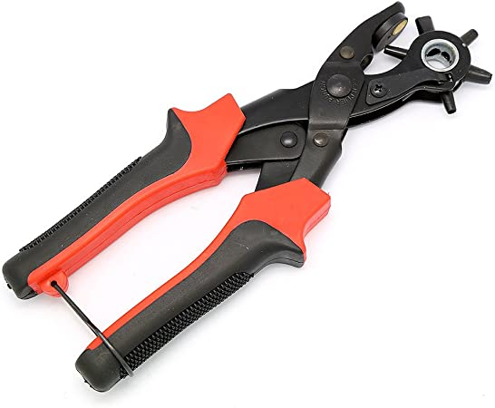 Amazon.com: EvZ - Alicates para perforar cinturones de piel ...