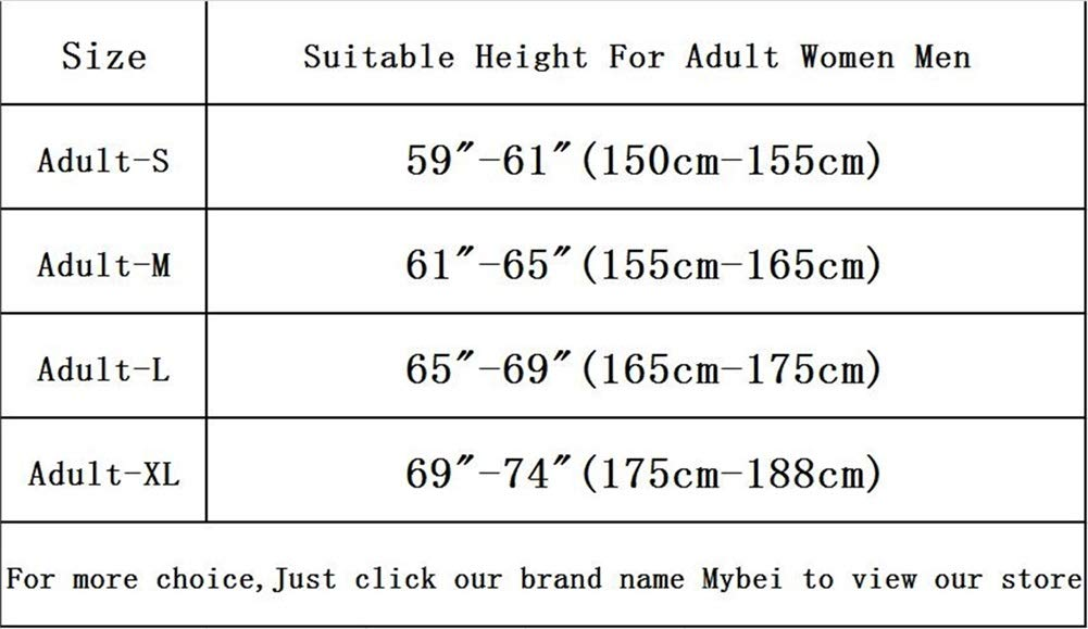 Unisex Adult Cute Animal Pajamas Onesies,One-Piece Cosplay Costume Jumpsuit Outfit XL by Mybei (Image #5)