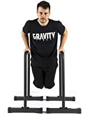 Gravity Fitness Parallettes, Dip Bars - XL - Neue 38-mm-Griffe - Dip-Bars für Calisthenics, Crossfit, Privater Gebrauch