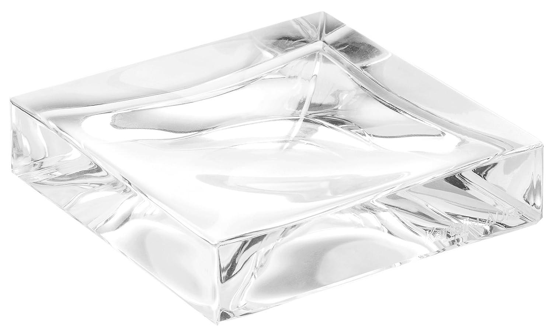 Kartell Boxy Porta Sapone, Rosa Nude, 10.5x10.5x2.5 cm 09963RO