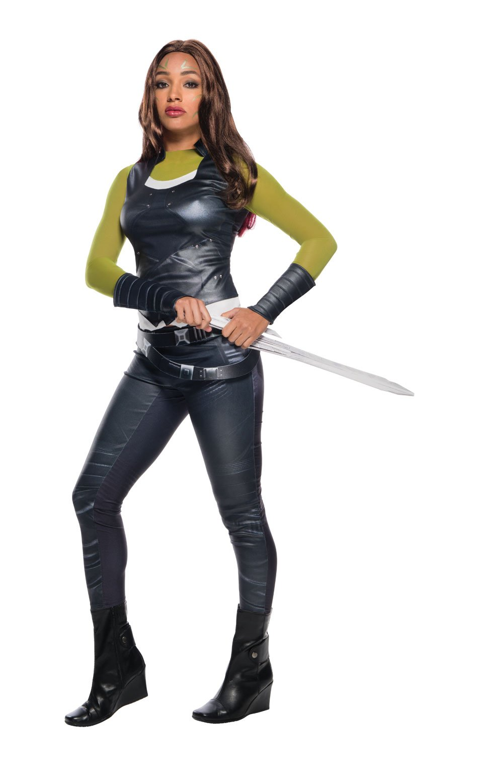Rubie's Women's Guardians of the Galaxy Gamora Costume, As Shown, Small by Rubie's