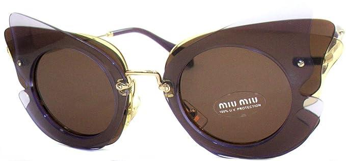 Miu Miu 0MU02SS VA68C1 63 Gafas de sol, Amarillo (Lilac ...