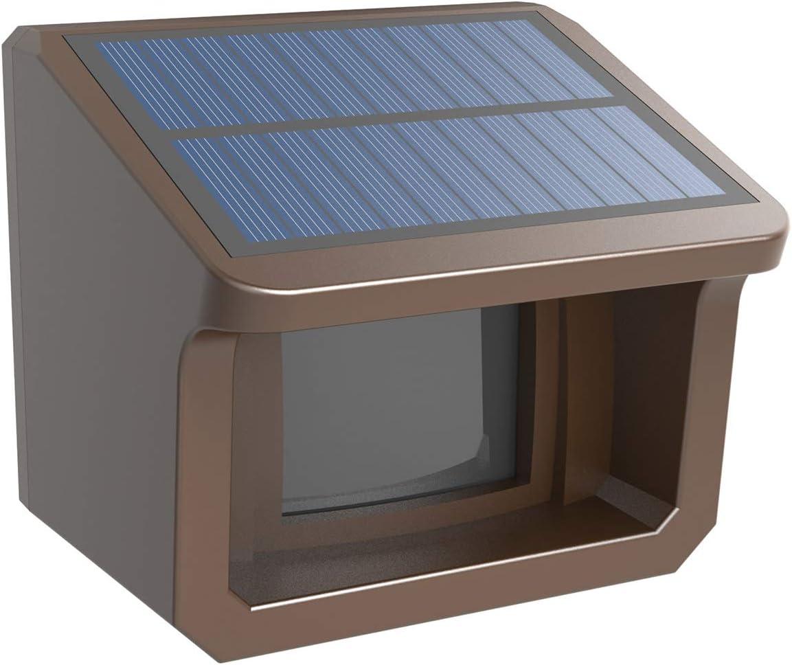 Extra Solar Wireless Outdoor Weatherproof Motion Sensor Detector for HTZSAFE Alarms-1 2 Mile Wireless Transmission Range-Up to 70FT Sensor Range 3 Adjustable Sensitivities
