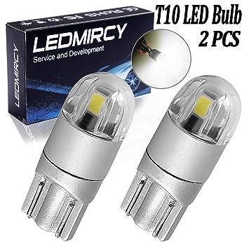 Bombillas LED T10, 2SMD, tipo 3030, superbrillantes, luz blanca