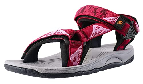 9e631f8d2d5f0 CAMEL CROWN Comfortable Outdoor Water Hiking Sandals for Women with Arch  Support Open-Toe Waterproof Women Sport Beach Sandals