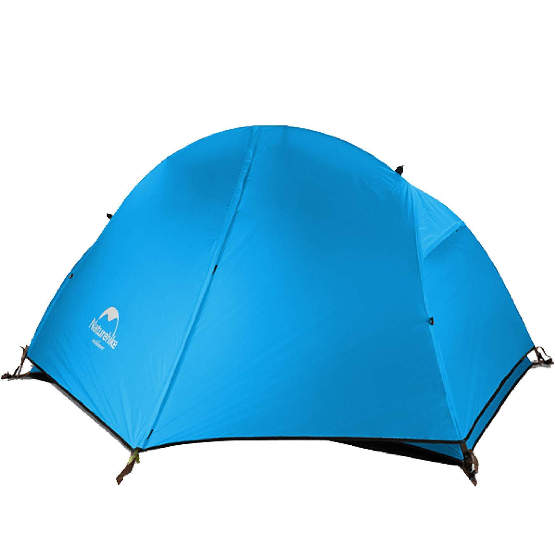 Azarxis 1-2 Personen Ultraleicht Zelt, 3 Saison Wasserdicht Zelt Double Layer für Outdoor Camping Wandern