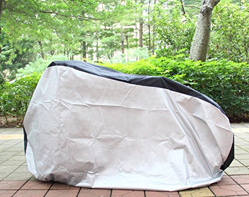 Ohuhu Bike Cover Waterproof Outdoor Bicycle Cover for Mountain and Road Bikes by Ohuhu (Image #5)