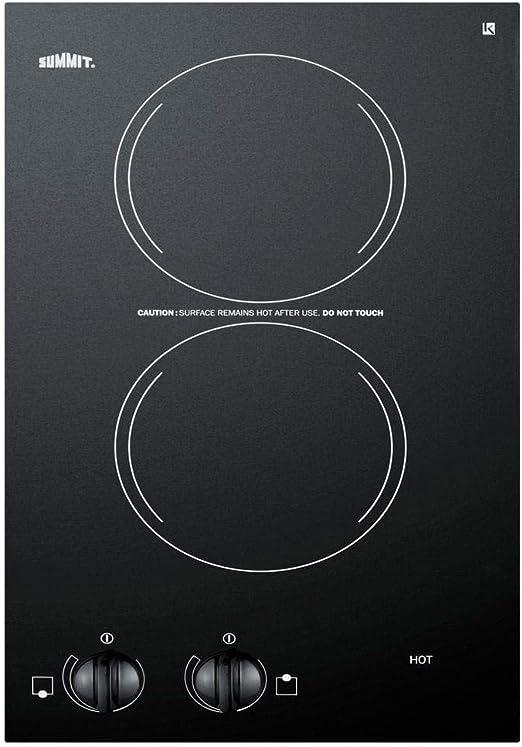 Amazon.com: Summit CR2220 Electric Cooktop, color negro ...