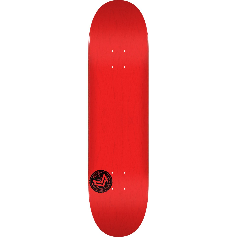 mini-logoデッキ242 / K - 20 – 8.0 Chevronスタンプレッド – Assembled as complete skateboard   B07CPM5DWD, お弁当グッズのカラフルボックス 06ed60d3
