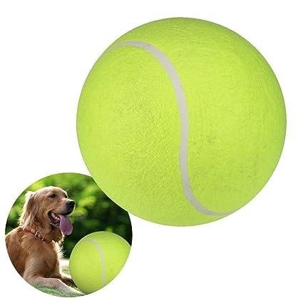Sannysis Pelotas para perros 24CM de pelota de tenis gigante ...