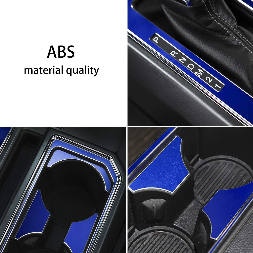 Car Roof Reading Lamp Cover Reading Light Panel Cover Decoration Trim for Ford Mustang 2015-2017