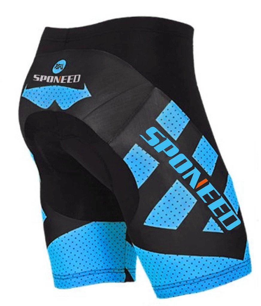 mens gel padded cycling shorts road bike