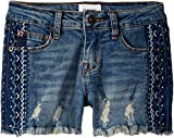 Hudson Kids Girl's India Shorts (Big Kids) Blithe Blue 16