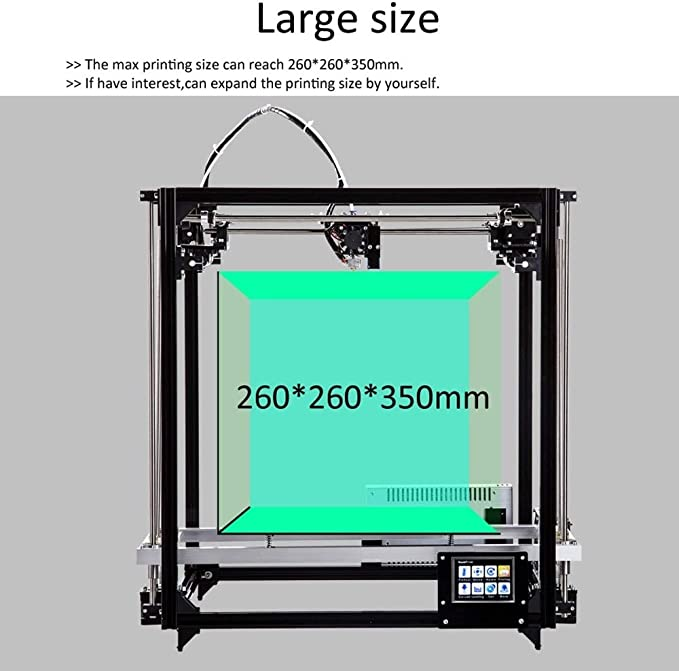 Impresora 3D Resina Impresora 3D Grande, FLSUN_F2 DIY Kit de la ...