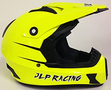 JLP Racing Casco de moto y motocross con gafas para Quad VTT MTB BMX, talla