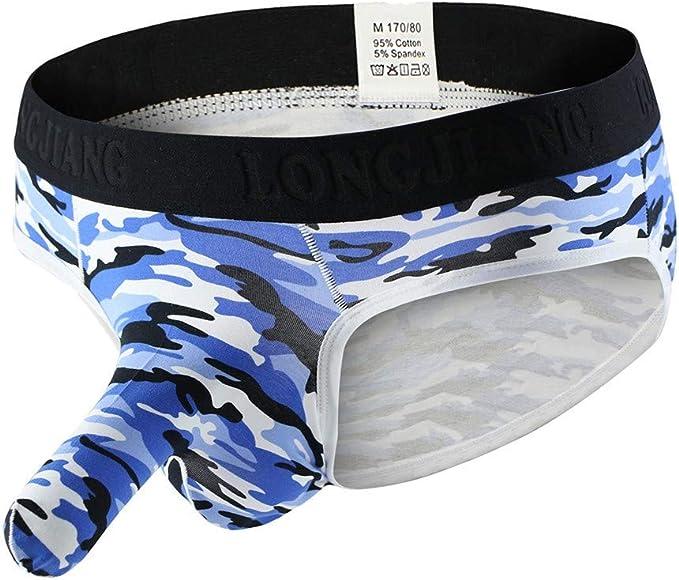 iYmitz Gedruckt Herren Soft Slips Einfache Unterhosen