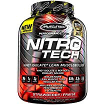 Nitro Tech Performance Series Strawberry 4lbs (1.79kg) CA
