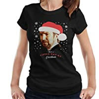 Cloud City 7 Hans Gruber Have A Yippee Kay Ay Christmas Die Hard Women's T-Shirt