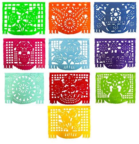 mexican-multicolor-plastic-papel-picado-banner-multicolor-for-all-occassions-over-16-feet-bunting-de