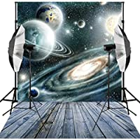 Generic 6X9ft Universe Outer space Fixed star Planet Photography Backdrops