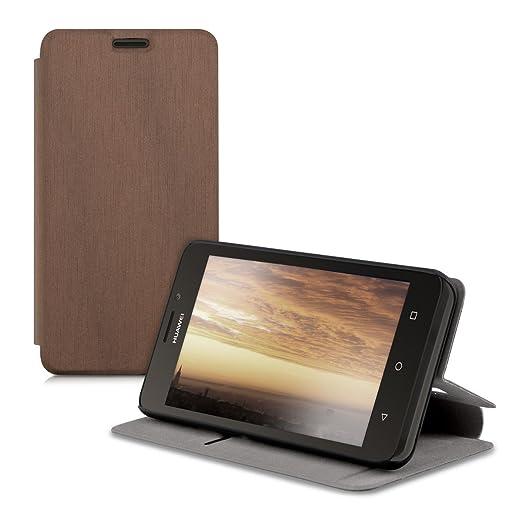 52 opinioni per kwmobile Cover Flip Case per Huawei Ascend Y635- Custodia protettiva