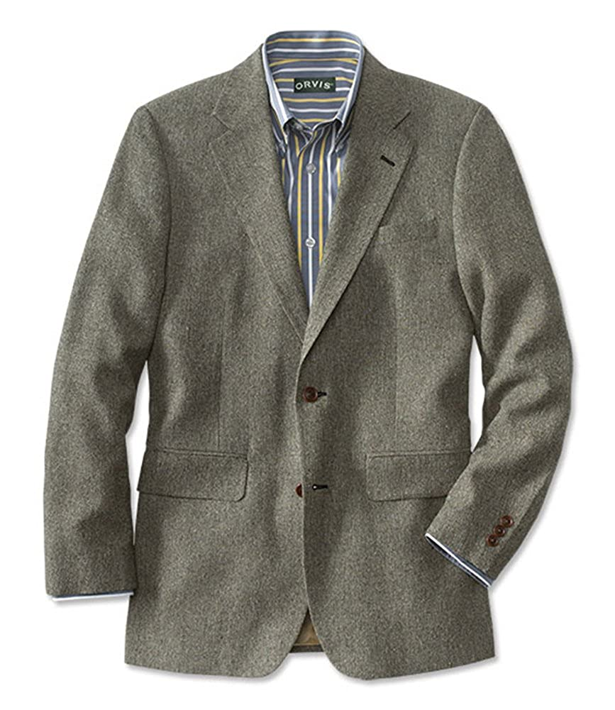 Orvis Silk Tick Weave Sport Coat//Regular