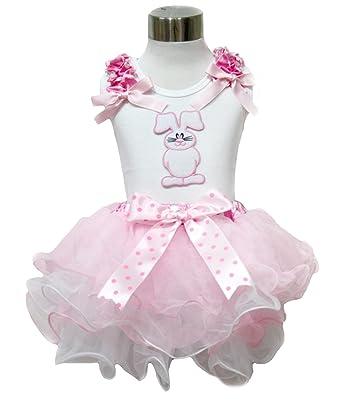 Amazon.com: Conejo de Pascua Conejo camisa, color rosa ...