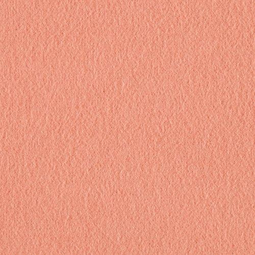 Robert Kaufman Kaufman Flannel Solid Peach Fabric by The Yard, -