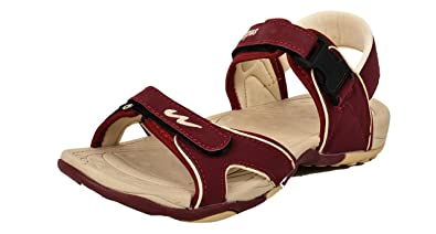 bb8882e040c4f Campus Jazzy Model Red Color Kids Sports Sandals (Size-5 UK)  Buy ...