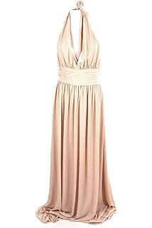 434b5653c8c Kocca Abito Vestito Lungo con Balze Donna Primavera Estate MIA Dress ...