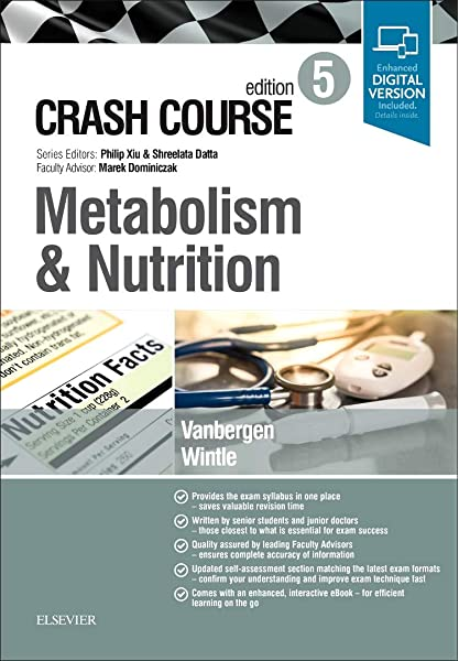Crash Course Metabolism And Nutrition 9780702073410 Medicine Health Science Books Amazon Com