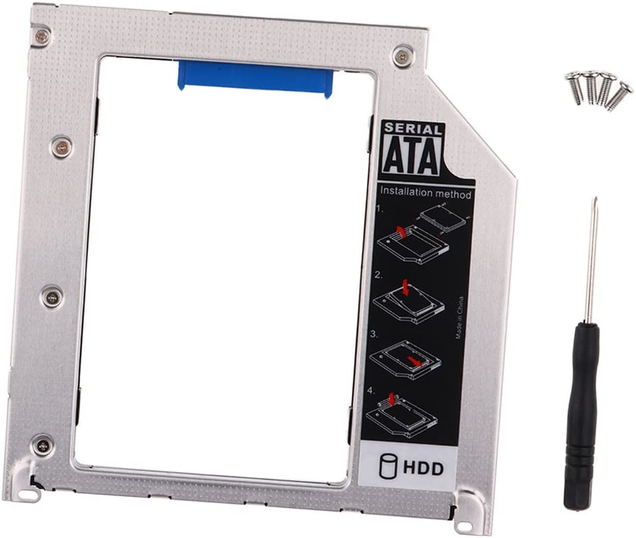 Generic 2nd Sata Hdd Hard Drive Caddy Apple Macbook Pro Early Middle Late 2009 2010 2011