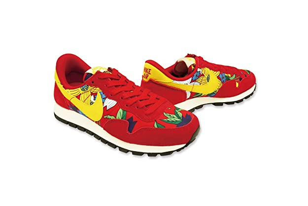 the best attitude f1546 17c73 Amazon.com   Nike Womens Air Pegasus  83 Floral Leather Fashion Sneakers  Red 10 Medium (B, M)   Shoes