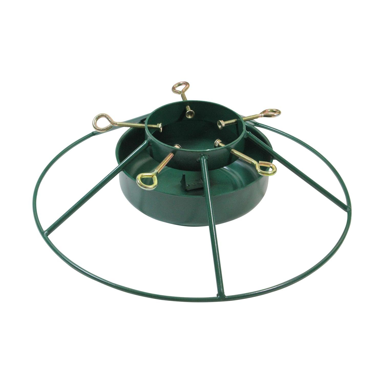 Heavy Duty Iron Mountain Christmas Tree Stand - For Real Live Trees Up To 12' Tall by Jack Post