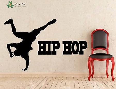 jiuyaomai Tatuajes de Pared Cotizaciones de Hip Hop Música Rap ...
