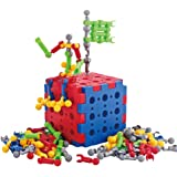 Stem Toys, Building Blocks for Kids- 75 Pieces Creative Construction and Engineering Blocks Toys -Intelligent Learning DIY Stick Building Block for Kids