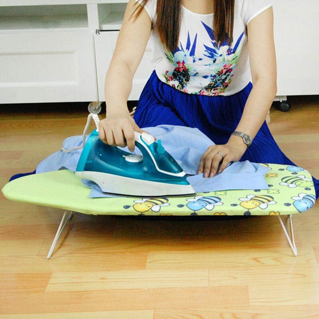 XuQinQin Planche à repasser, Planche à repasser de ménage, Planche à repasser portative, Petite table à repasser pliable planche a repasser (Color : B) B