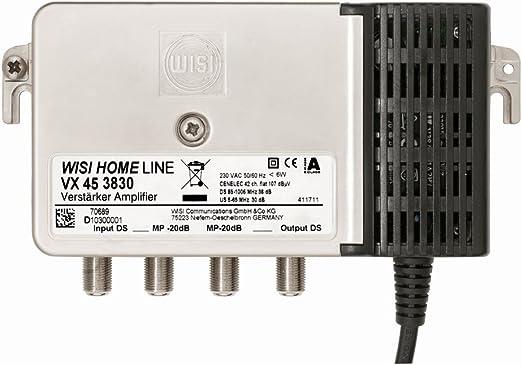 Wisi 73969 Vx 45 D 3830 Hausanschluss Verstärker 38 Elektronik